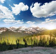 Stock Photo of mountain landscape