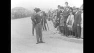 Charlie Chaplin - Kid Auto Races at Venice (1914) Stock Footage