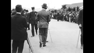 Charlie Chaplin - Kid Auto Races at Venice (1914) Stock Footage