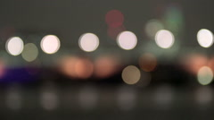 Timelapse of the London skyline at sunset Stock Footage