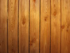 Background from boards of  wooden fence Stock Photos