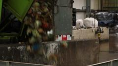 Dumping Food Waste Stock Footage