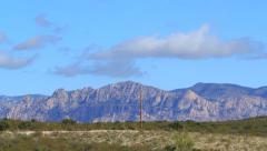 Arizona High Desert Timelapse 1 4K Stock Footage