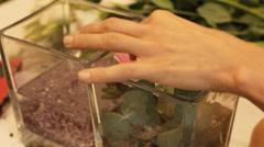 Wedding bouquet flower  Stock Footage