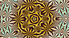 Kaleidoscope colorful visuals Stock Footage