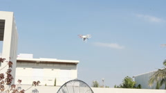 Drone Luxury Home, Event, wedding pool view Stock Footage