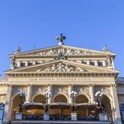 Alte oper in frankfurt Stock Photos