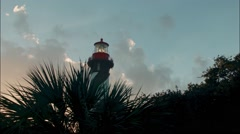 Light House Tower Low Angle - stock footage