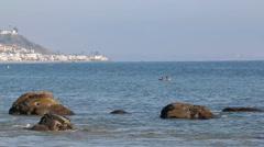 Malibu Beach 3 - stock footage