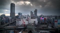 4k tokyo japan city future skyscrapers skyline destination timelapse Stock Footage