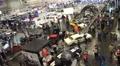 4k Motorshow automobile concept cars trade fair timelapse 4k or 4k+ Resolution