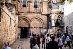 Church of the Holy Sepulchre - stock photo