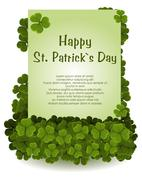 Stock Illustration of st patricks day background