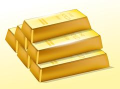 Stock Illustration of gold bars