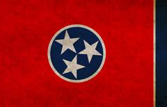Stock Illustration of flag of tennessee