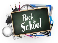 Stock Illustration of back to school illustration