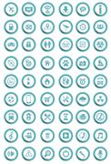 Stock Illustration of vector icons