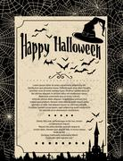 Stock Illustration of halloween background