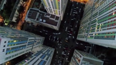 Many cars are parked near residential complex Bogorodsky Stock Footage