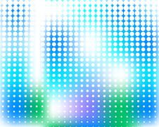Blue abstract background - stock illustration