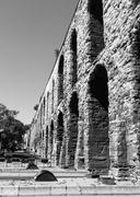 Aqueduct of valens Stock Photos