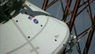 NASA - Multi-Purpose Crew Vehicle Water Landing Test Stock Footage