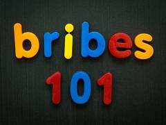 Stock Photo of Bribes 101