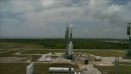 GLAST Launches From Kennedy Space Center Stock Footage