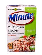 Minute rice Stock Photos