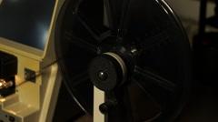 Super 8 Viewer Film Reel 005 - stock footage