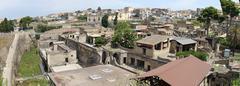 Ancient roman site town herculaneum Stock Photos