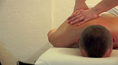 4K Relaxing Massage. UHD stock video Stock Footage