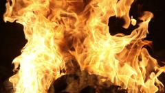 Fire in the smithy Stock Footage