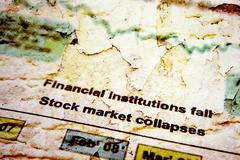 Stock market crise Piirros
