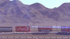 Las Vegas NV 10-19-2014 Red Bull Air Race obstacle flight race editorial - 8 Stock Footage