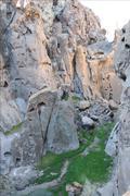 Ring Loop Trail, Mojave National Preserve, California - stock photo