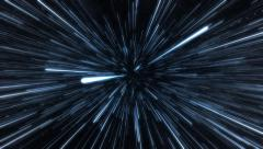 Hyperspace jump. - stock footage