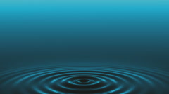 Ripple background. Dark version. Loop. - stock footage