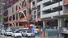 Brickell city center construction 4k Stock Footage