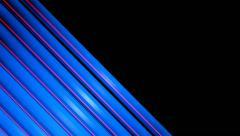 Blue slant stripe Stock Footage