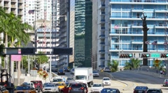 Brickell avenue to downtown 4k video Stock Footage