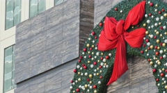 4k holiday decoration Stock Footage