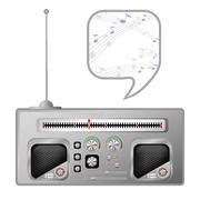 radio tuner - stock illustration