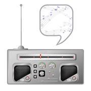 Radio tuner Stock Illustration