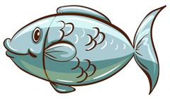 Stock Illustration of A fish