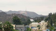 Highland Hollywood Overcast Day 1 Stock Footage