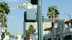 Beverly Hills Rodeo Drive 2 Stock Footage