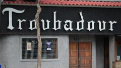 Troubadour West Hollywood Day Stock Footage