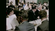 American servicemen listening to preaching in an Army Chapel during Passover Stock Footage