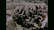 Soldiers singing hymn Dayenu Stock Footage